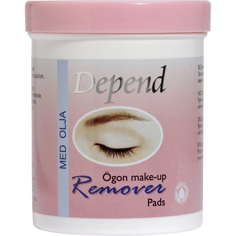 Depend Remover Pads With Oil Eye Makeup 80 Pcs