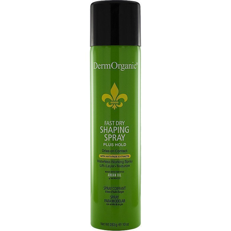 DermOrganic Fast Dry Shaping Spray Plus Hold 283ml