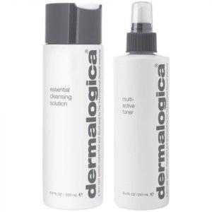 Dermalogica Cleanse & Tone Duo Dry Skin