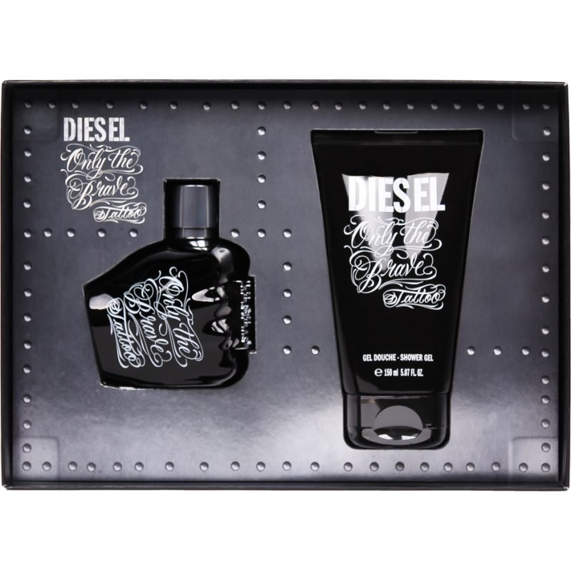 Diesel Only The Brave Tattoo EdT 75ml Shower Gel 150ml