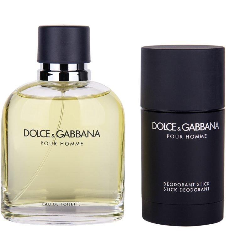 Dolce & Gabbana Dolce & Gabbana Pour Homme Duo EdT 125ml Deostick 75ml