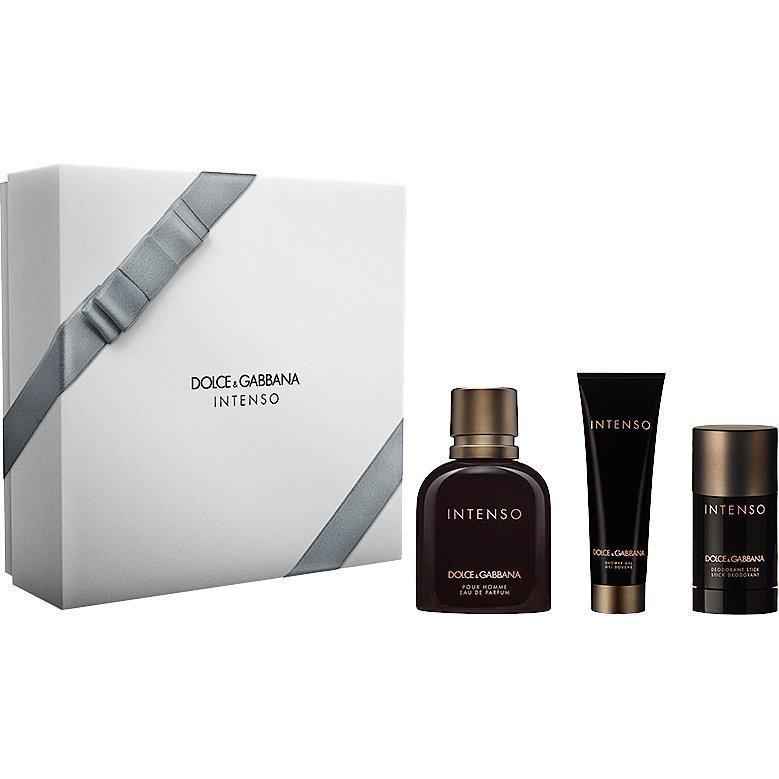 Dolce & Gabbana Intenso EdP 125ml Deostick 75ml Shower Gel 50ml