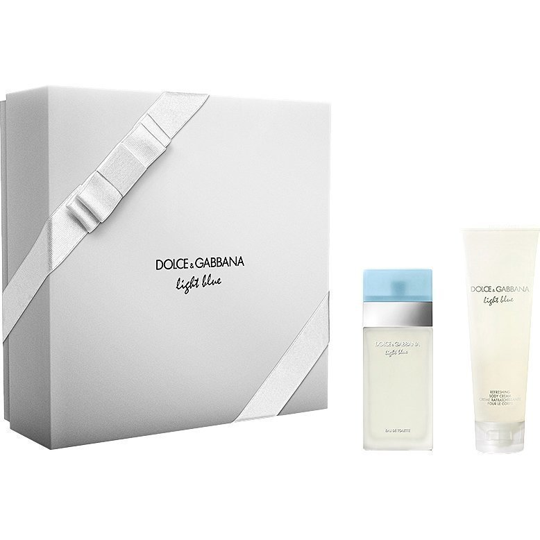 Dolce & Gabbana Light Blue EdT 25ml Body Cream 50ml