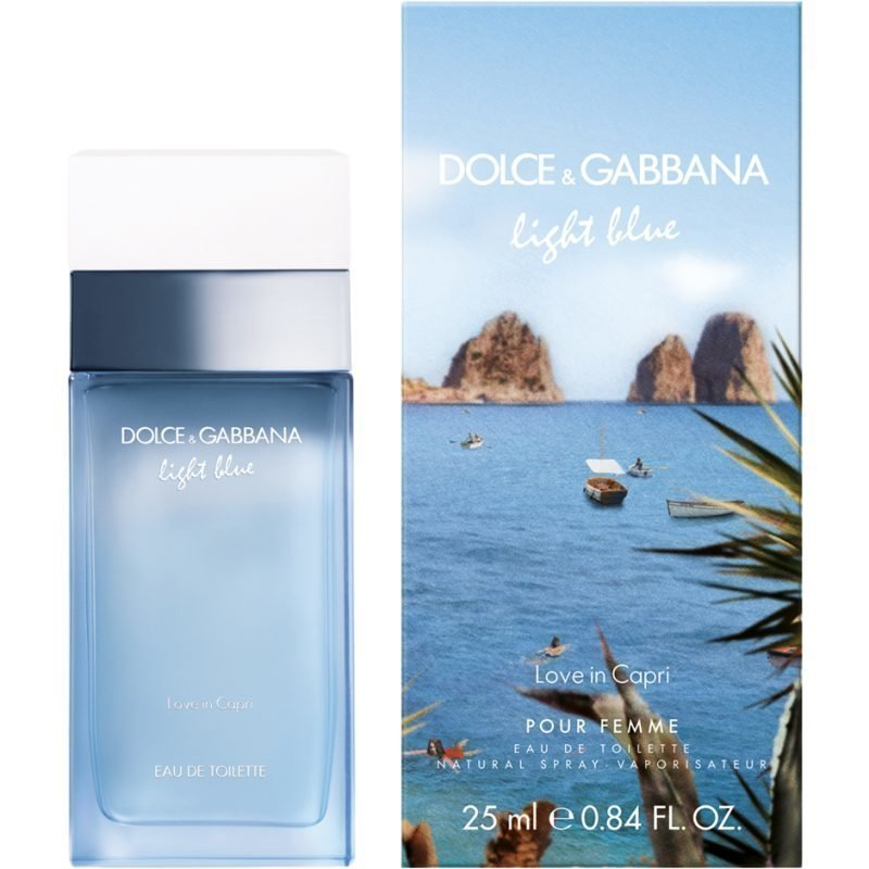 Dolce & Gabbana Light Blue Love In Capri EdT 25ml