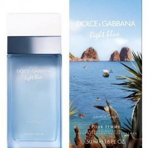 Dolce & Gabbana Light Blue Love In Capri Edt 50 Ml Tuoksu