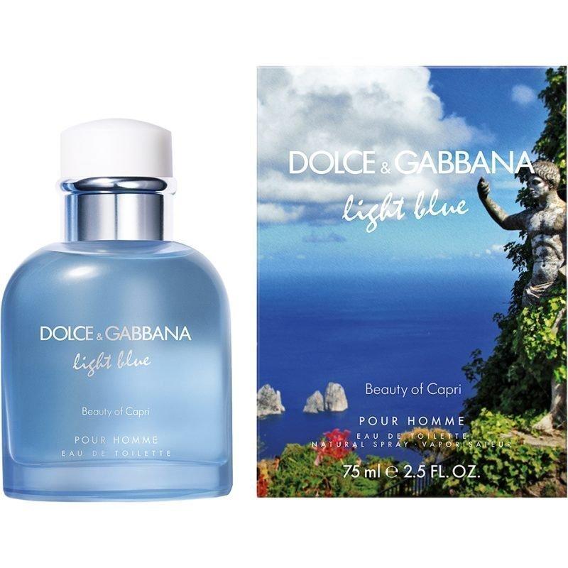 Dolce & Gabbana Light Blue Pour Homme Beauty Of Capri EdT 75ml