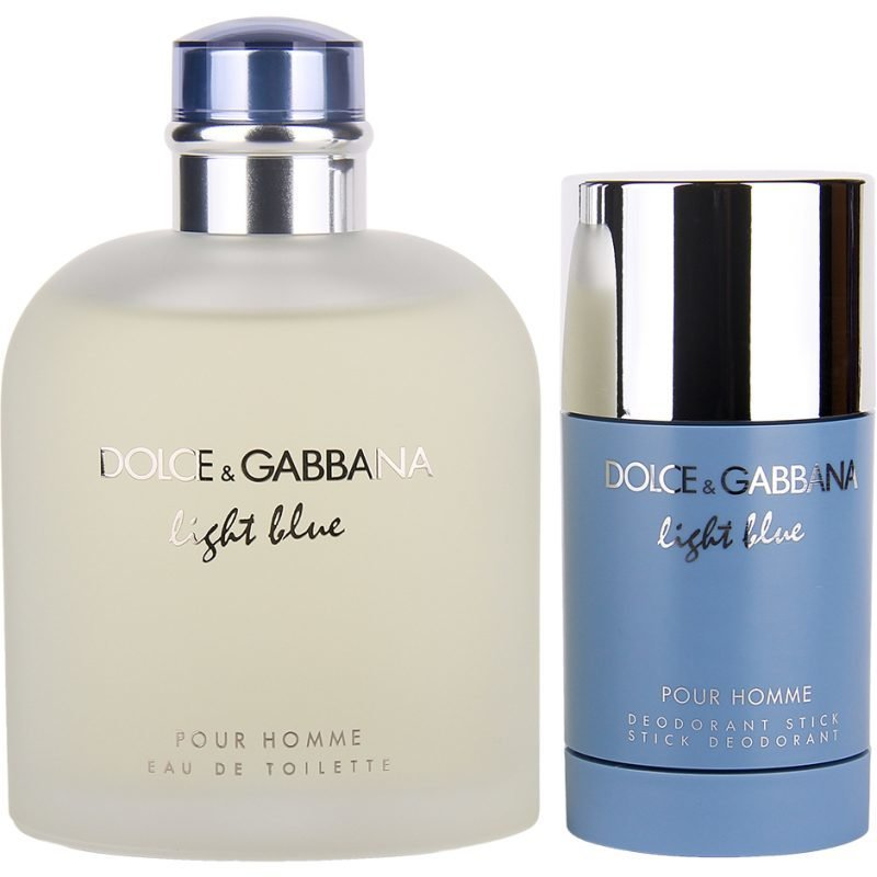 Dolce & Gabbana Light Blue Pour Homme Duo EdT 200ml Deostick 75ml