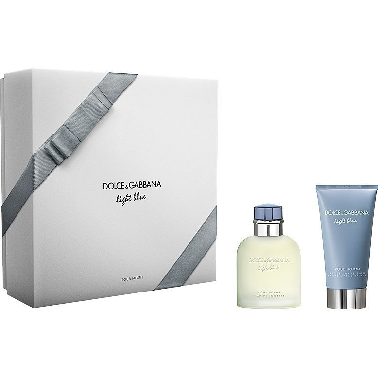 Dolce & Gabbana Light Blue Pour Homme EdT 75ml After Shave Balm 75ml