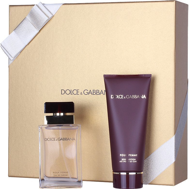 Dolce & Gabbana Pour Femme Giftset EdP 50ml Body Lotion 100ml