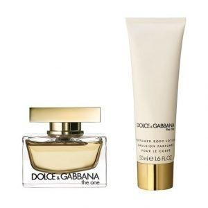 Dolce & Gabbana The One Edp Tuoksu 30 ml + Vartalovoide 50 ml