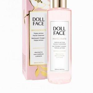 Doll Face Invigorate Triple-Action Facial Cleanser 240 Ml Meikinpoistoaine