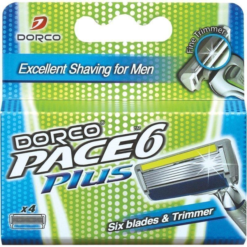 Dorco Dorco Pace 6 Plus 4 Blades