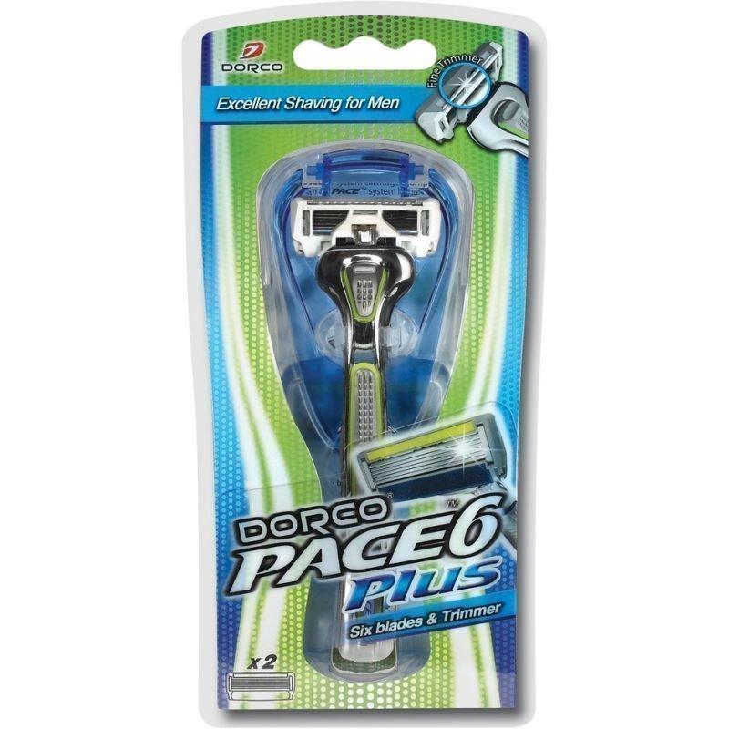 Dorco Dorco Pace 6 Plus Razor & 2 Blades