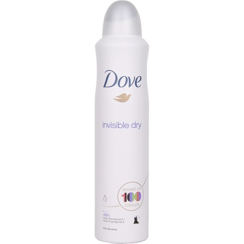 Dove Invisible Dry 24hSpray 250ml