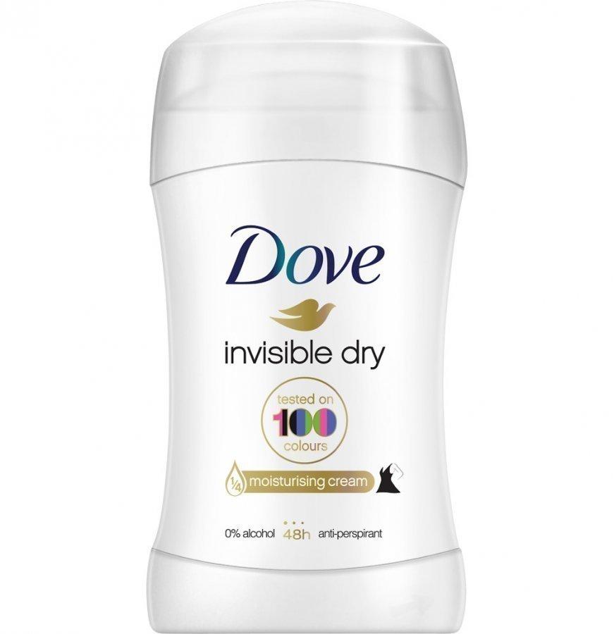 Dove Invisible Dry Deo Stick Deodorantti 40 Ml
