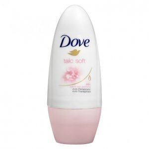 Dove Talc Soft Deo Roll-On Deodorantti 50 Ml