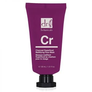 Dr Botanicals Apothecary Charcoal Superfood Mattifying Face Mask 50 Ml