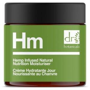 Dr Botanicals Apothecary Hemp Infused Natural Nutrition Moisturiser 50 Ml