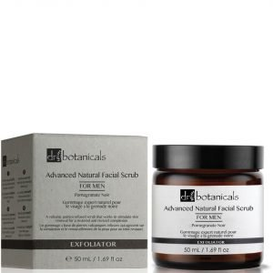 Dr Botanicals Pomegranate Noir Advanced Natural Facial Scrub For Men 50 Ml