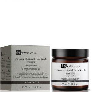 Dr Botanicals Pomegranate Noir Advanced Natural Facial Scrub For Men 50 Ml