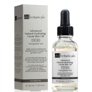 Dr Botanicals Pomegranate Noir Advanced Natural Hydrating Facial Skin Oil For Men 30 Ml
