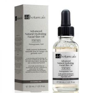 Dr Botanicals Pomegranate Noir Advanced Natural Hydrating Facial Skin Oil For Men 30 Ml