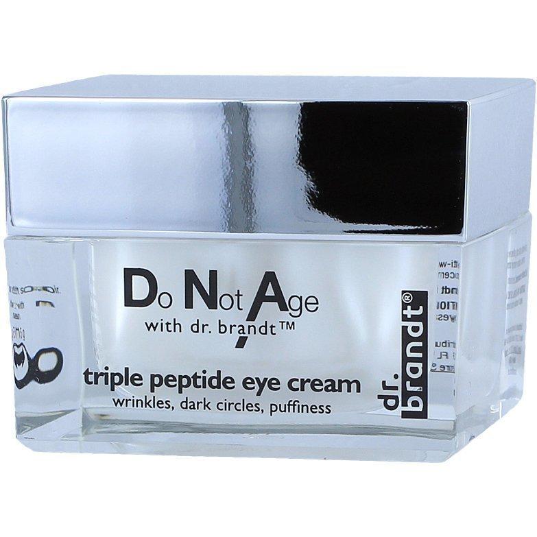 Dr Brandt Do Not Age Triple Peptide Eye Cream 15g