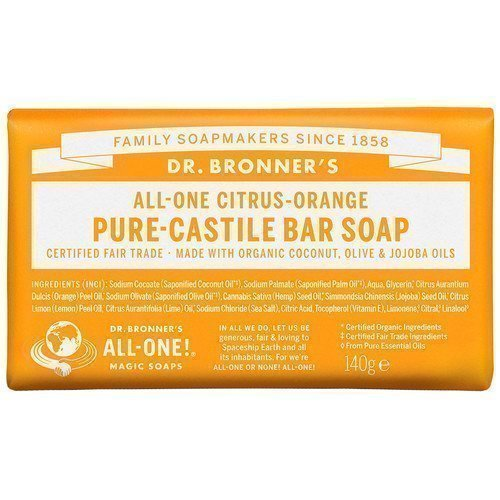 Dr. Bronner's Magic Soaps All-One Hemp Citrus Orange