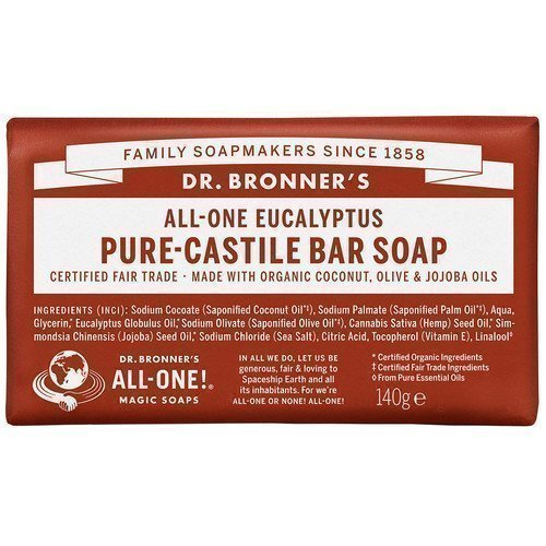 Dr. Bronner's Magic Soaps All-One Hemp Eucalyptus