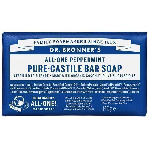 Dr. Bronner's Magic Soaps All-One Hemp Peppermint
