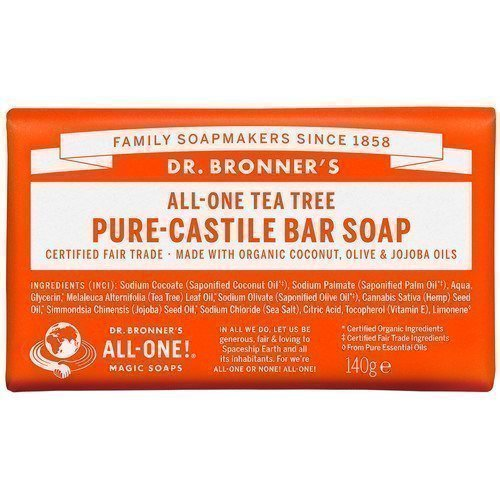 Dr. Bronner's Magic Soaps All-One Hemp Tea Tree