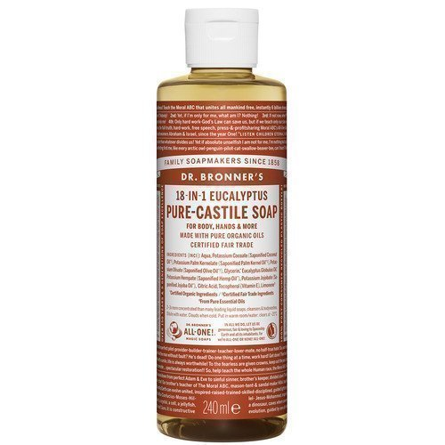 Dr. Bronner's Magic Soaps Eucalyptus 59 ml