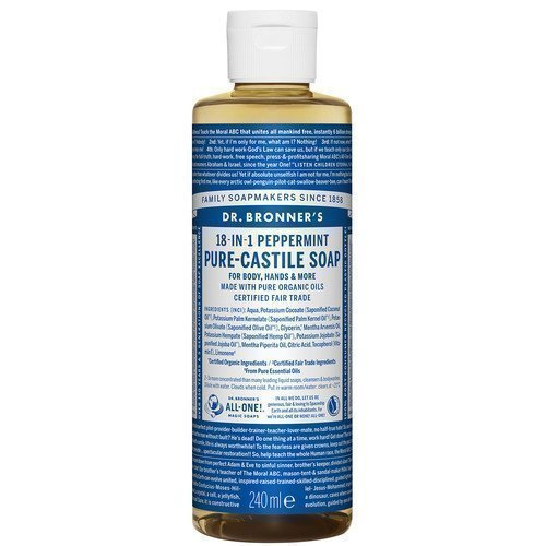 Dr. Bronner's Magic Soaps Peppermint 236 ml