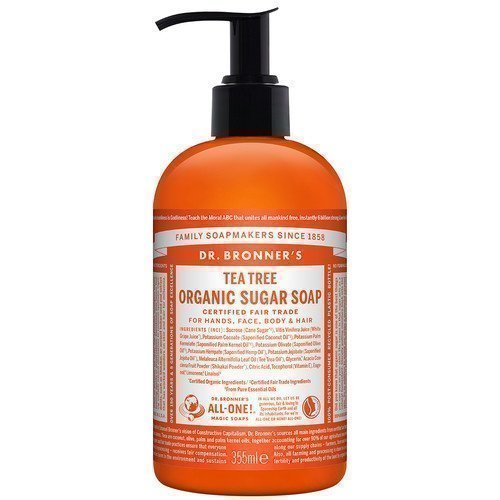 Dr. Bronner's Organic Hand & Body Shikakai Soap Tea Tree 355 ml