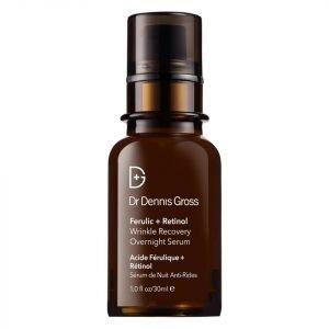 Dr Dennis Gross Skincare Ferulic And Retinol Wrinkle Recovery Overnight Serum 30 Ml