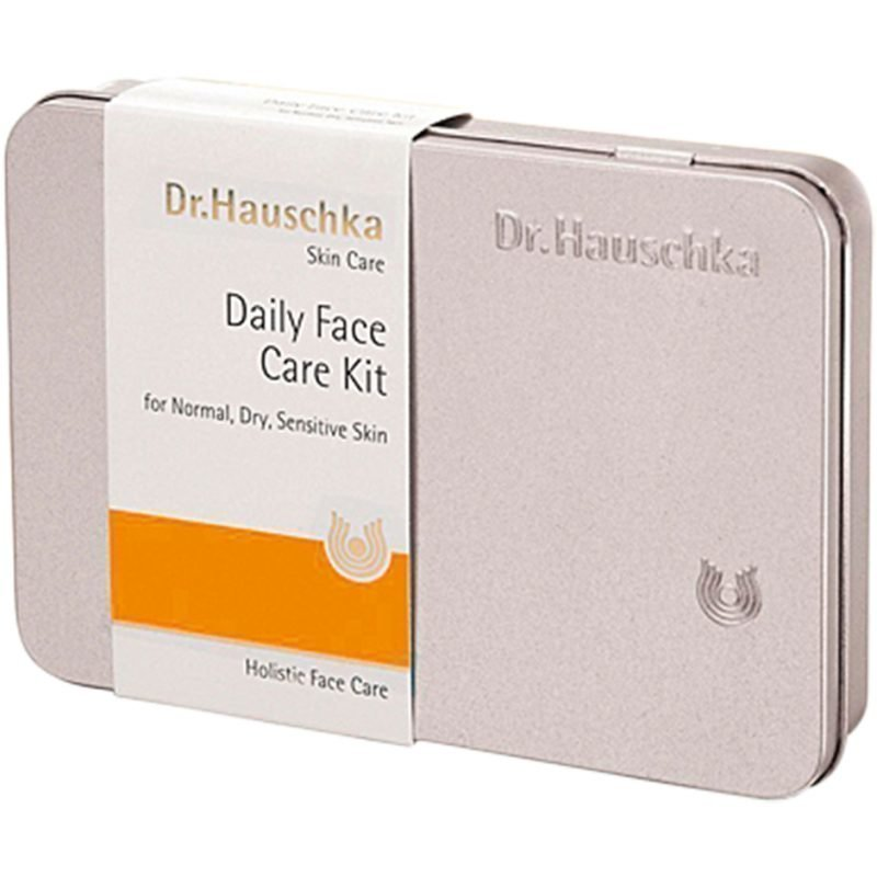 Dr. Hauschka Face Care Kit 10ml Cleansing Cream 10ml Soothing Cleansing Milk 10ml Facial Toner 5ml Revitalising Day Cream 5ml Quince Day Cream 5ml Rose Day Cream