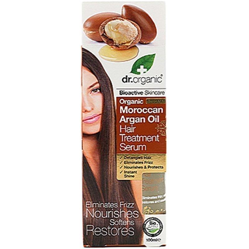 Dr Organic Moroccan Argan Oil Hair Treatment Serum 100ml