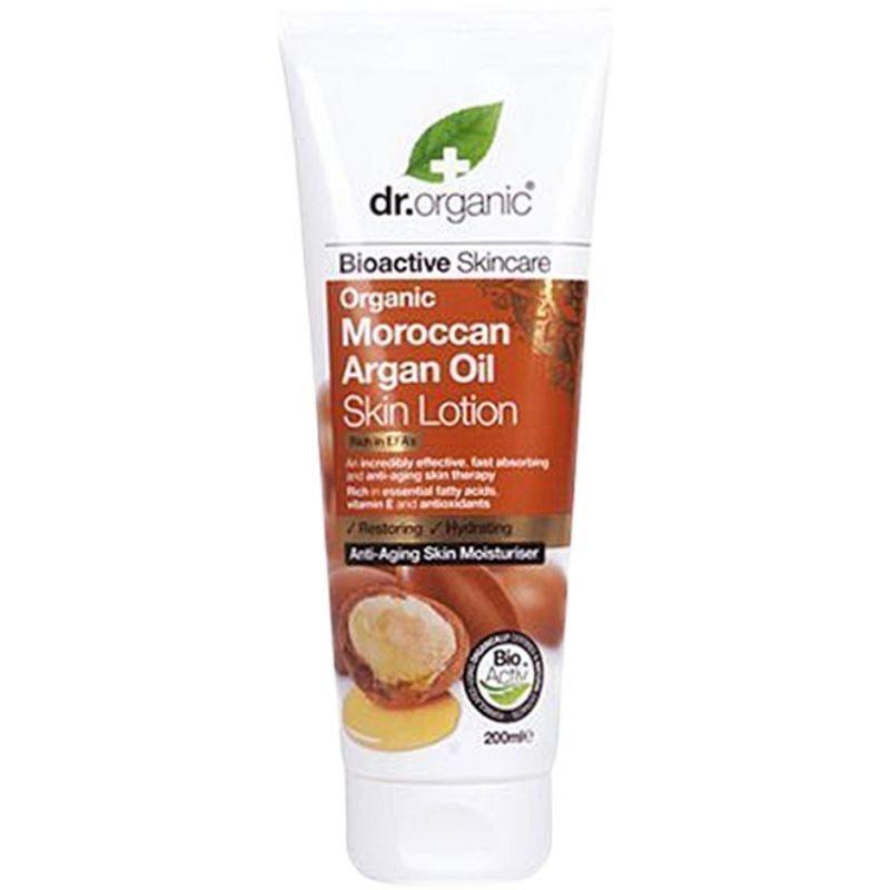 Dr Organic Moroccan Argan Oil Skin Lotion 200ml