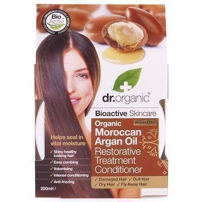 Dr. Organic Organic Moroccan Argan Oil Restorative Hair Treatment Conditioner