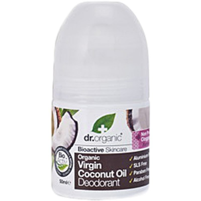Dr Organic Virgin Coconut Oil Deodorant 50ml