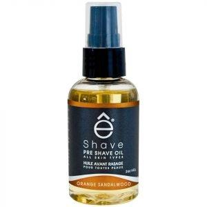 E-Shave Orange Sandalwood Pre Shave Oil 59 Ml