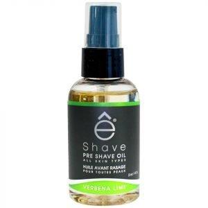 E-Shave Verbena Lime Pre Shave Oil 59 Ml