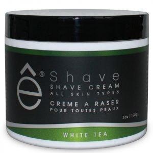 E-Shave White Tea Shave Cream 118 Ml
