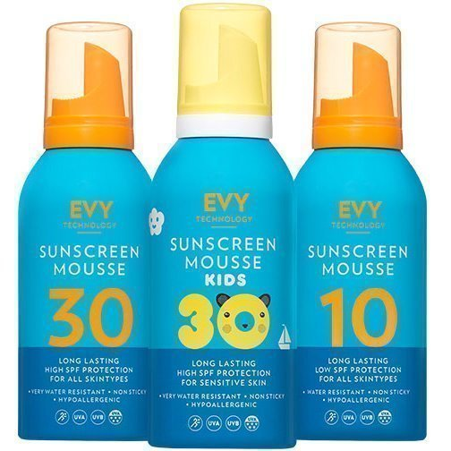 EVY Technology EVY Trio Sunscreen Mousse 150ml x 3