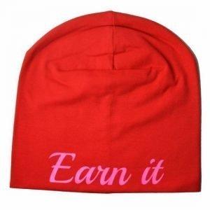 Earn It Trikoopipo Punainen