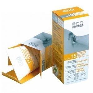 Eco Cosmetics Aurinkovoide Spf 15 75 Ml Luomu