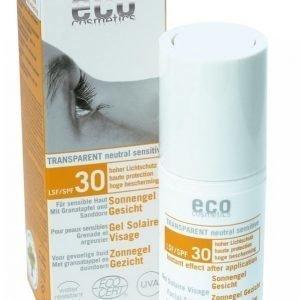 Eco Cosmetics Aurinsuojakogeeli Kasvoille Spf30 30 Ml