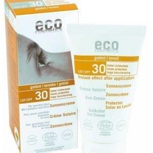 Eco Cosmetics Sävytetty Aurinkovoide Spf30 75 Ml
