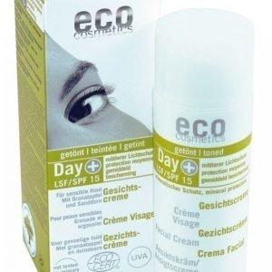 Eco Cosmetics Sävytetty Päivävoide Spf15 50 Ml Päivävoide