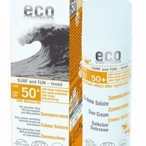 Eco Cosmetics Surf & Fun Spf50 + 50 Ml Luomu Aurinkovoide